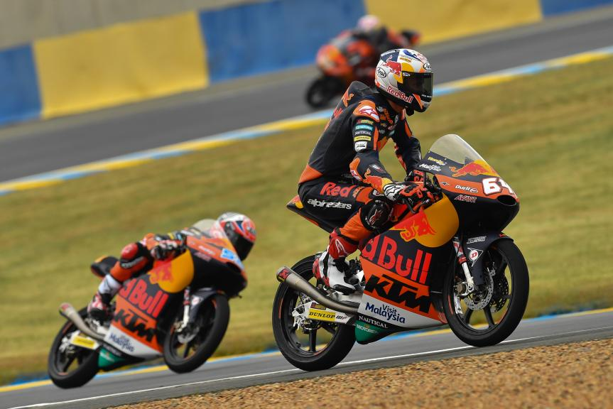 Bo Bendsneyder, Red Bull KTM Ajo, HJC Helmets Grand Prix de France