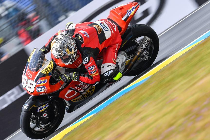 Yonny Hernandez, AGR Team, HJC Helmets Grand Prix de France