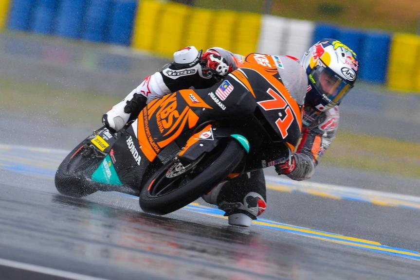 Ayumu Sasaki, SIC Racing Team, HJC Helmets Grand Prix de France