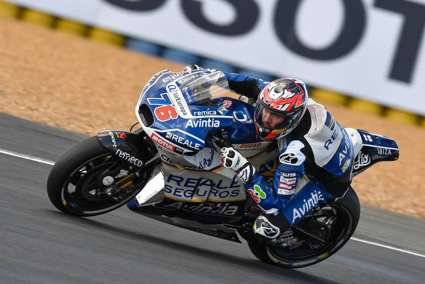 Loris Baz, Reale Avintia Racing, HJC Helmets Grand Prix de France