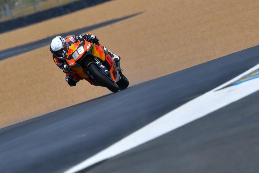Ricky Cardus, Red Bull KTM Ajo, HJC Helmets Grand Prix de France
