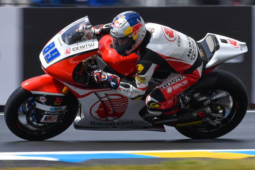 Khairul Idham Pawi, Idemitsu Honda Team Asia, HJC Helmets Grand Prix de France