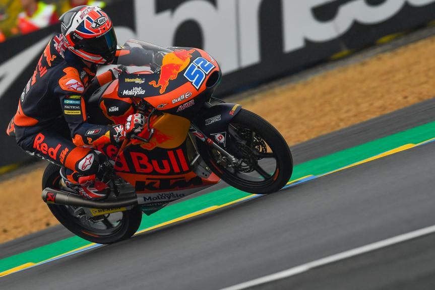 Danny Kent, Red Bull KTM Ajo, HJC Helmets Grand Prix de France