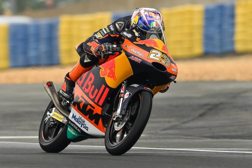 Niccolo Antonelli, Red Bull KTM Ajo, HJC Helmets Grand Prix de France