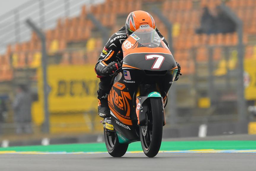Adam Norrodin, SIC Racing Team, HJC Helmets Grand Prix de France