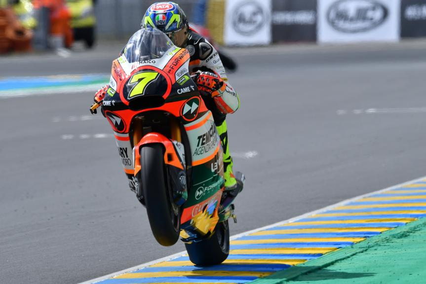 Lorenzo Baldassari, Forward Racing Team, HJC Helmets Grand Prix de France