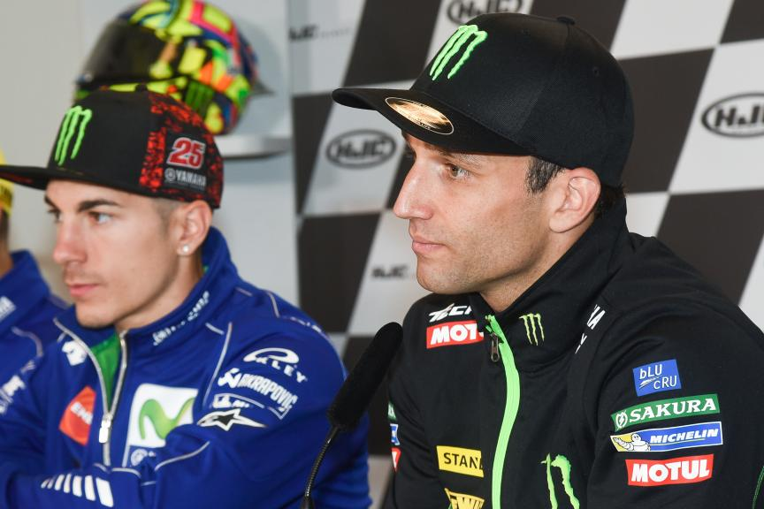 Maverick Vinales, Johann Zarco, HJC Helmets Grand Prix de France