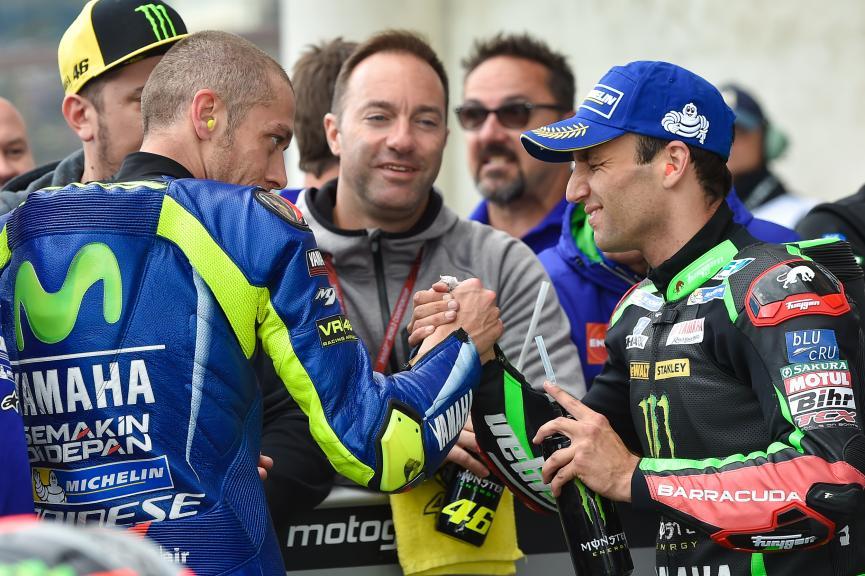 Valentino Rossi, Johann Zarco, HJC Helmets Grand Prix de France