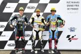 Thomas Luthi, Francesco Bagnaia, Franco Morbidelli, HJC Helmets Grand Prix de France