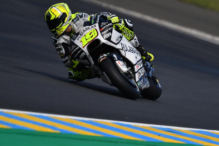 Alvaro Bautista, Pull&Bear Aspar Team, HJC Helmets Grand Prix de France
