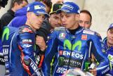 Maverick Vinales, Valentino Rossi, Movistar Yamaha MotoGP, HJC Helmets Grand Prix de France