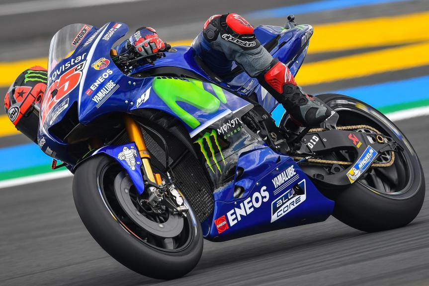 Maverick Vinales, Movistar Yamaha MotoGP, HJC Helmets Grand Prix de France