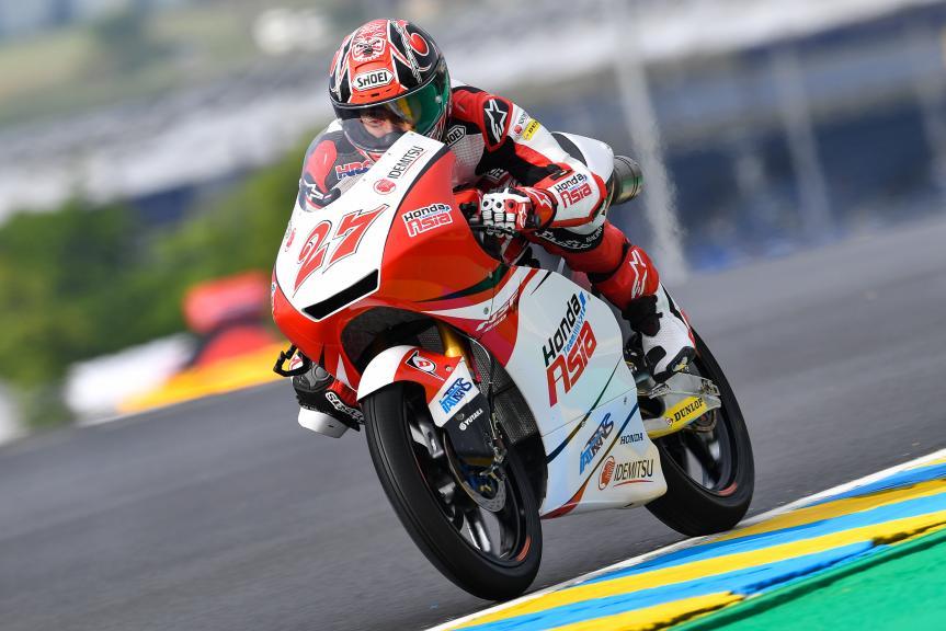 Kaito Toba, Honda Team Asia, HJC Helmets Grand Prix de France