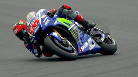Viñales, Rossi and Zarco stormed Q2 and secured the front row spots for Yamaha