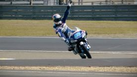 Martin will get his first pole start this season after Bulega's fastest lap was ultimately cancelled for exceeding track limits