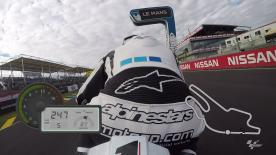 Just on-board for a lap of the Le Mans Bugatti Circuit, filmed exclusively using GoPro cameras.