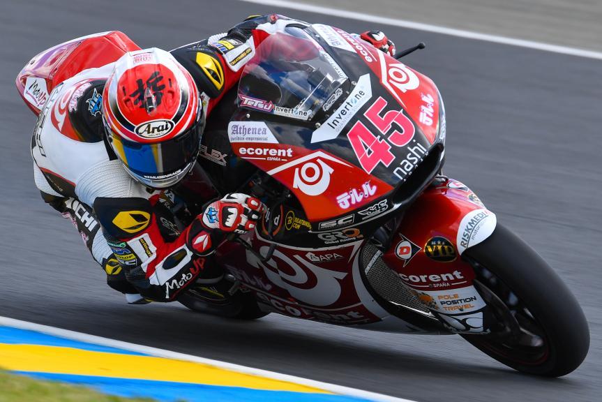Tetsuta Nagashima, Teluru SAG Team, HJC Helmets Grand Prix de France