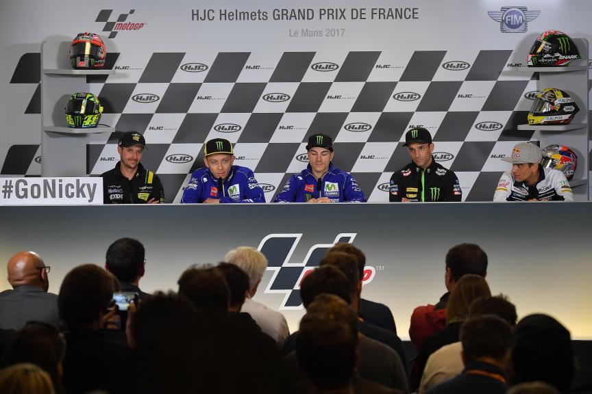 ress-Conference HJC Helmets Grand Prix de France