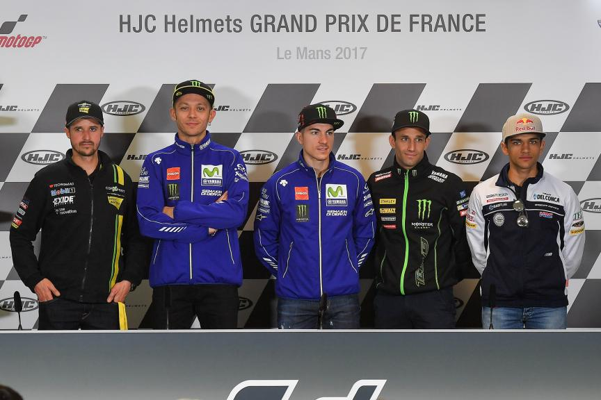 ress-Conference HJC Helmets Grand Prix de France