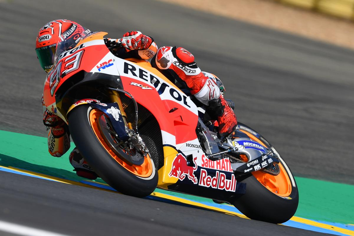"""Marquez: """"This is a track where we normally struggle"""" 