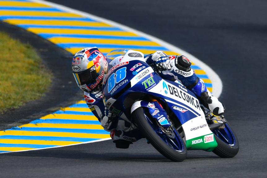 Jorge Martin, Del Conca Gresini Moto3, HJC Helmets Grand Prix de France