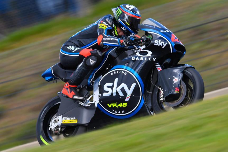 Francesco Bagnaia, Sky Racing Team VR46, HJC Helmets Grand Prix de France
