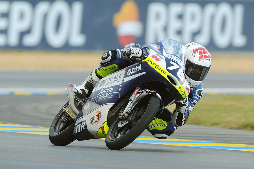 FIM CEV Repsol Moto3 - France - QP -  Makar Yurchenko