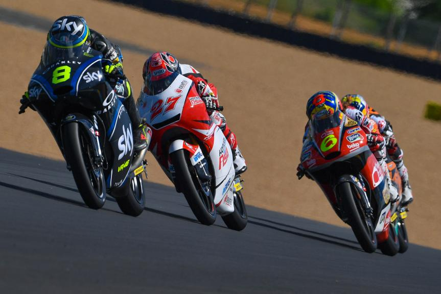 Nicolo Bulega, Sky Racing Team VR46, HJC Helmets Grand Prix de France