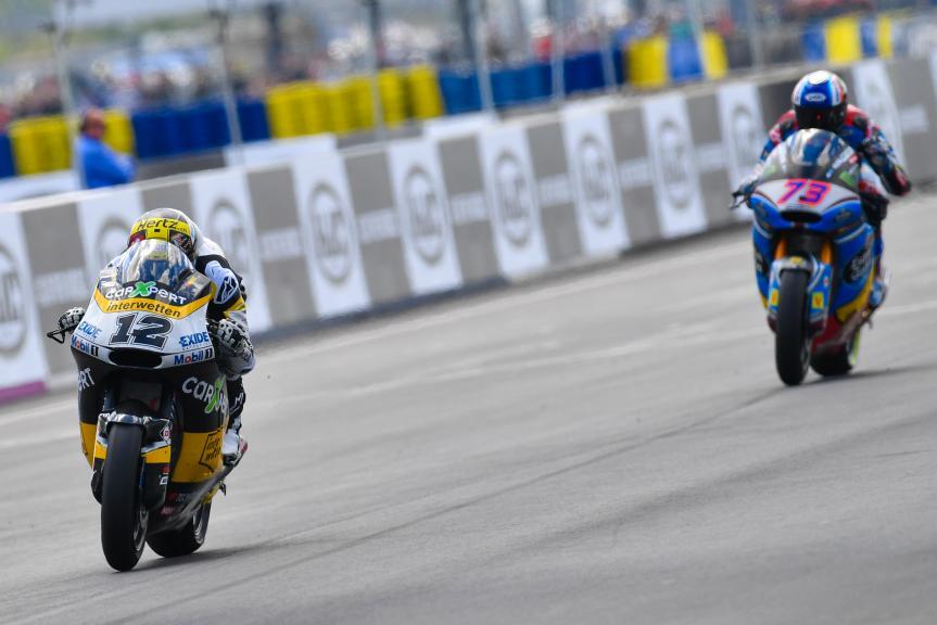 Thomas Luthi, Carxpert Interwetten, Alex Marquez, EG 0,0 Marc VDS, HJC Helmets Grand Prix de France
