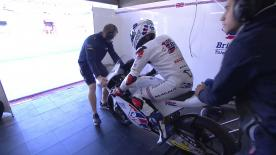 The entire Warm Up session for the Moto3™ World Championship at the #FrenchGP.