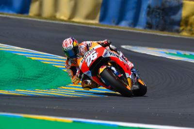 Pedrosa on the podium: 'I knew I had the pace'