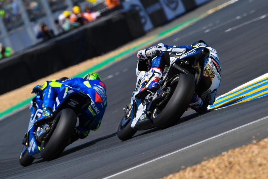 Andrea Iannone, Loris Baz, HJC Helmets Grand Prix de France
