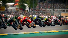 Catch all the details with this stunning slow motion footage, filmed live during the race.