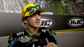 Pecco Bagnaia scored his 2nd consecutive podium in the Moto2™ class in France
