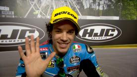Franco Morbidelli put in a perfect race to clinch his 4th win of the season on Sunday at Le Mans