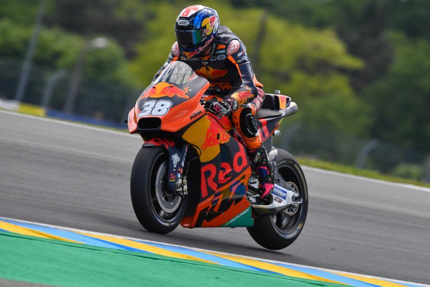 Bradley Smith, Red Bull KTM Factory Racing, HJC Helmets Grand Prix de France