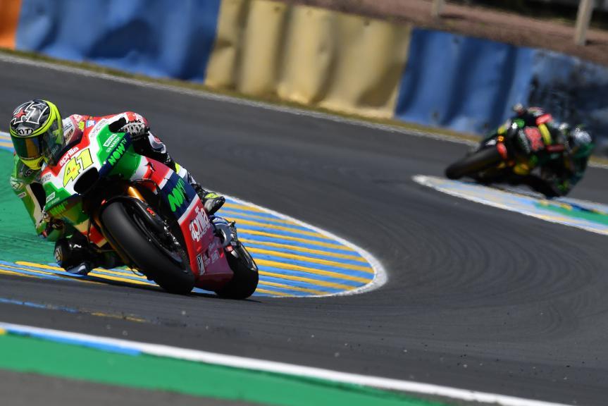 Aleix Espargaro, Aprilia Racing Team Gresini, HJC Helmets Grand Prix de France