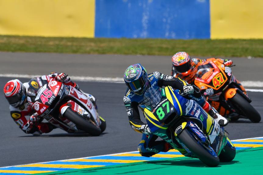 Remy Gardner, Tetsuta Nagashima, HJC Helmets Grand Prix de France