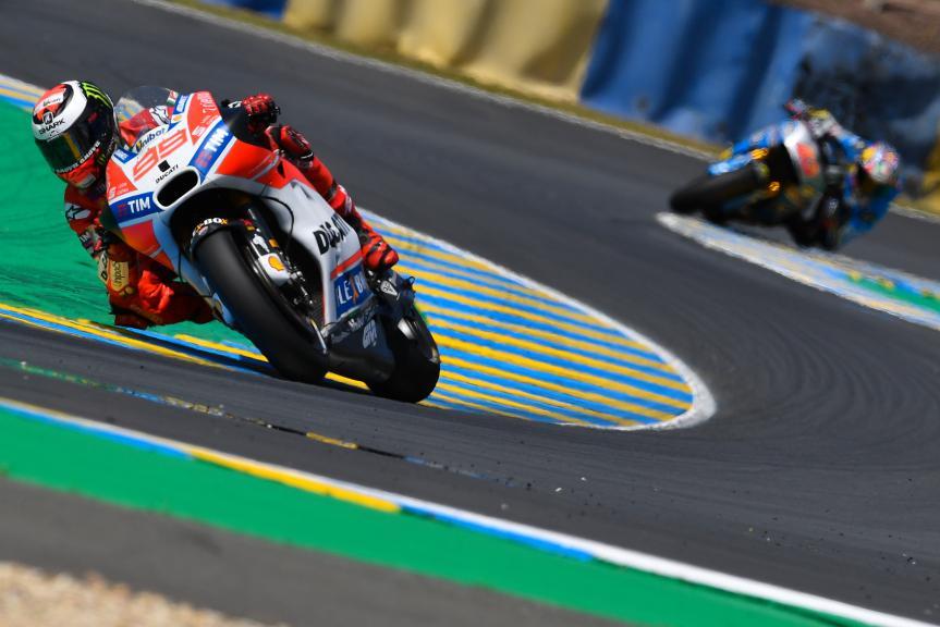 Jorge Lorenzo, Ducati Team, HJC Helmets Grand Prix de France