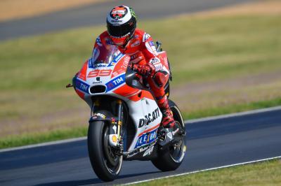 Lorenzo: 'No ha sido una mala carrera'