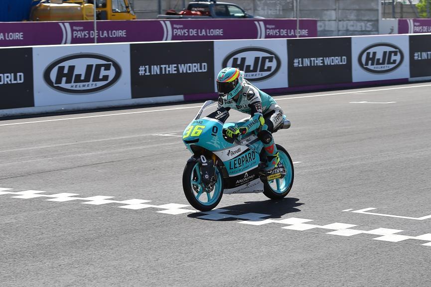 Joan Mir, Leopard Racing, HJC Helmets Grand Prix de France