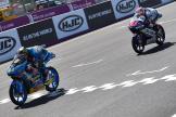 Aron Canet, Estrella Galicia 0,0, Fabio Di Giannantonio, Del Conca Gresini Moto3, HJC Helmets Grand Prix de France