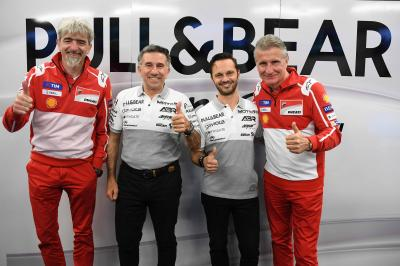 Aspar renew with Ducati for 2018