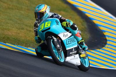 Mir dirige le warm-up Moto3™ du #FrenchGP