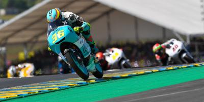 Imperious Mir conquers Le Mans as drama hits Moto3™