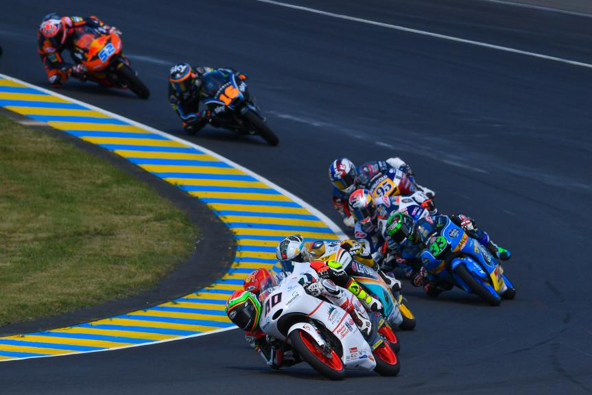 Moto3, HJC Helmets Grand Prix de France