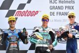Joan Mir, Aron Canet, Fabio Di Giannantonio, HJC Helmets Grand Prix de France