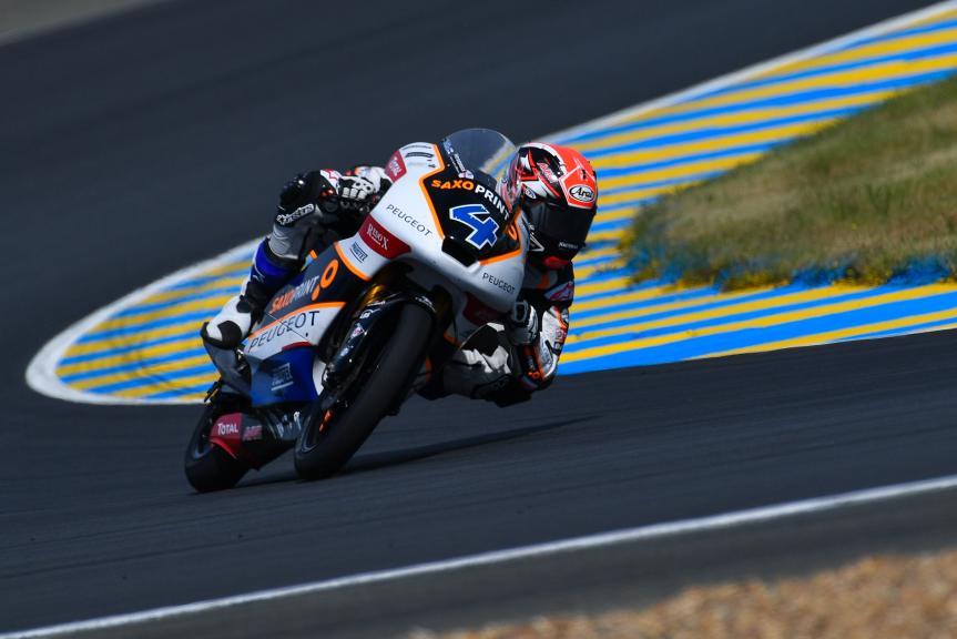 Patrik Pulkkinen, Peugeot MC Saxoprint, LeMans Moto2 & Moto3 Oficial Test