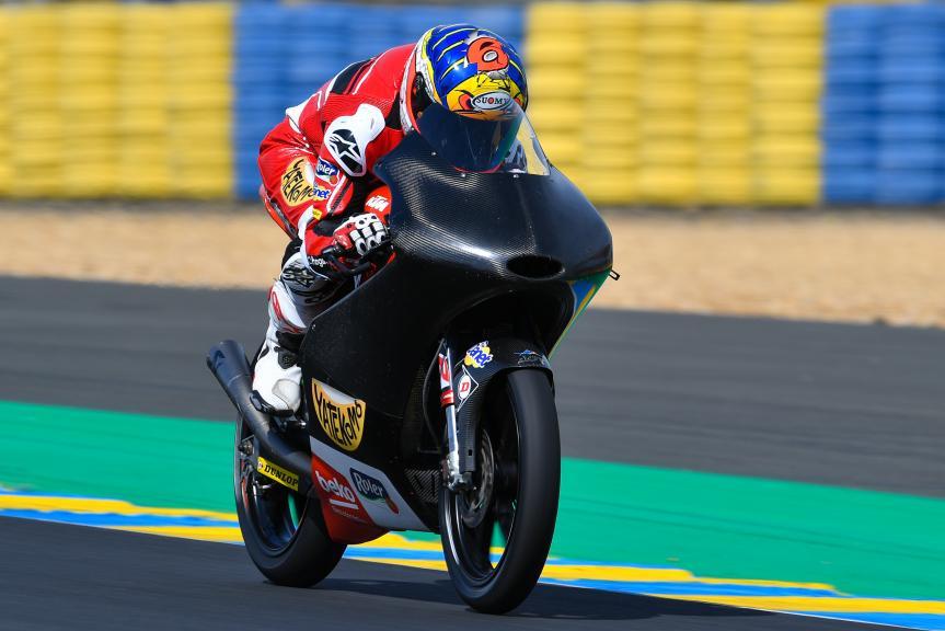 Maria Herrera, AGR Team, LeMans Moto2 & Moto3 Oficial Test