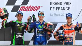The #FrenchGP was one of the most entertaining races of the year: Great riding, great racing and plenty of drama